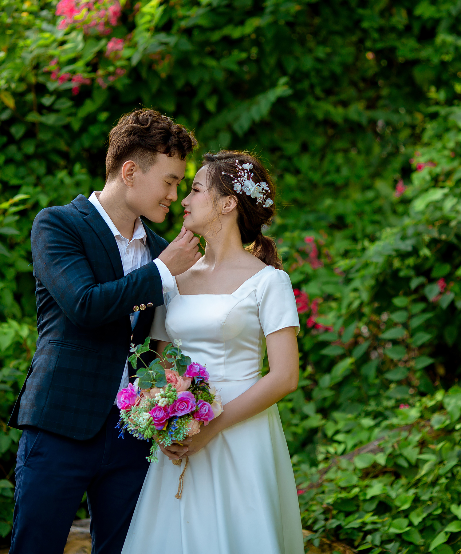 chụp ảnh cưới phim trường Alibaba 02