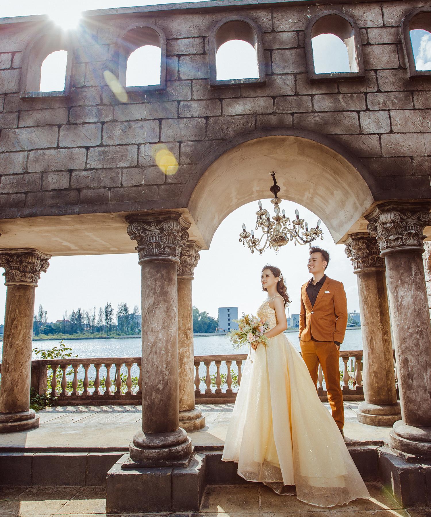 chụp ảnh cưới phim trường Alibaba 01