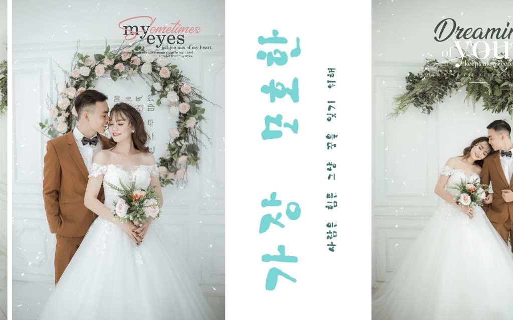 Ảnh cưới Hàn Quốc tại Ahihi Studio - Ảnh 1
