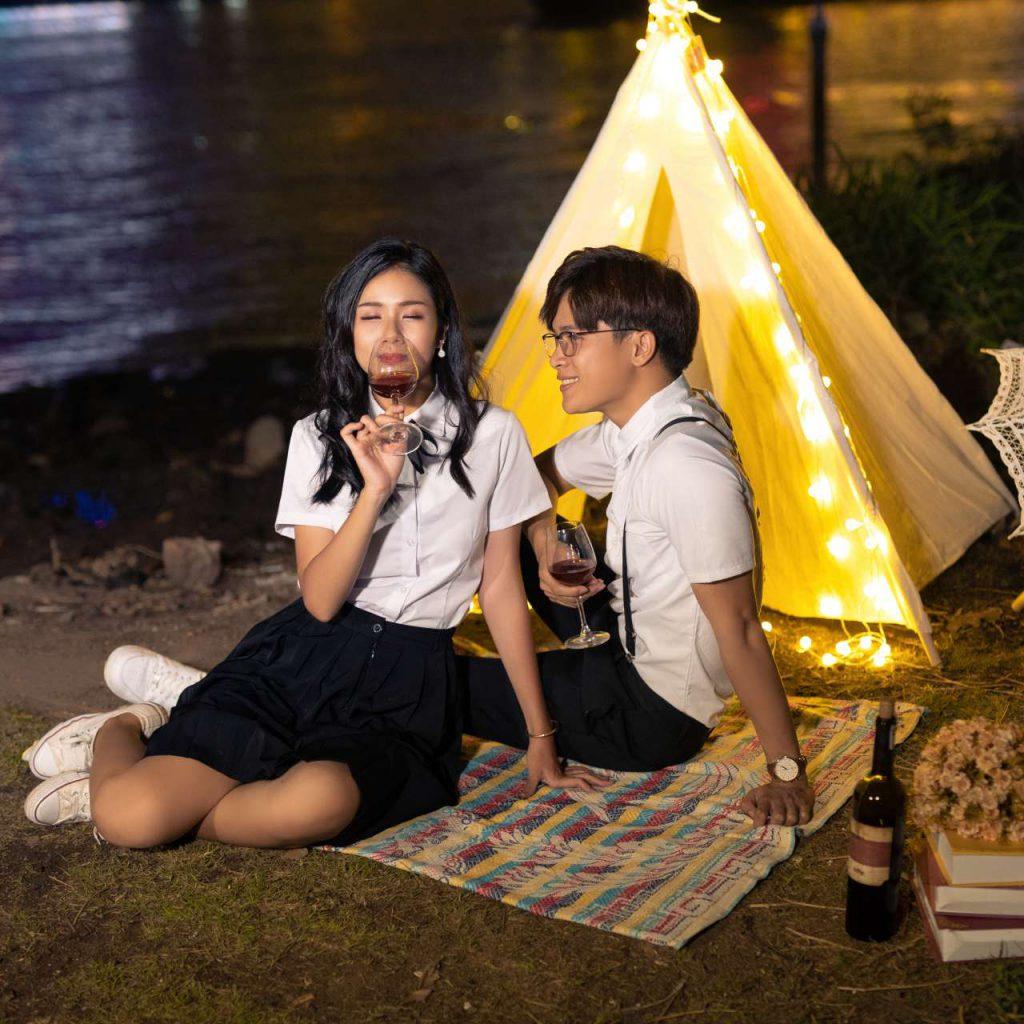 Ảnh cưới ngoại cảnh Sài Gòn hình 5