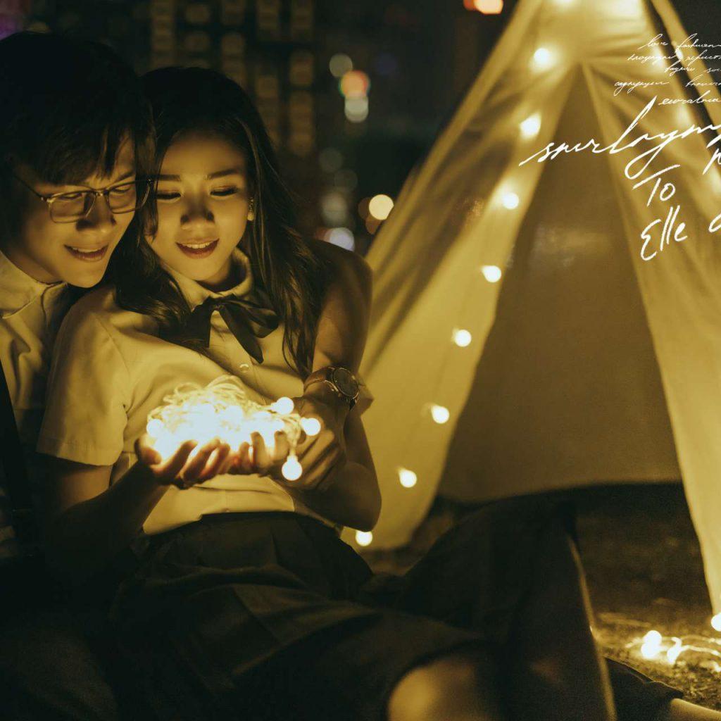 Ảnh cưới ngoại cảnh Sài Gòn hình 4