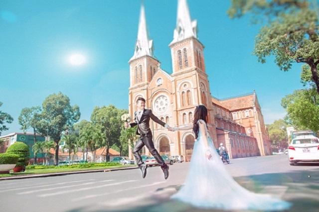 Chụp hình cưới ở đâu đẹp TPHCM - Ảnh 2