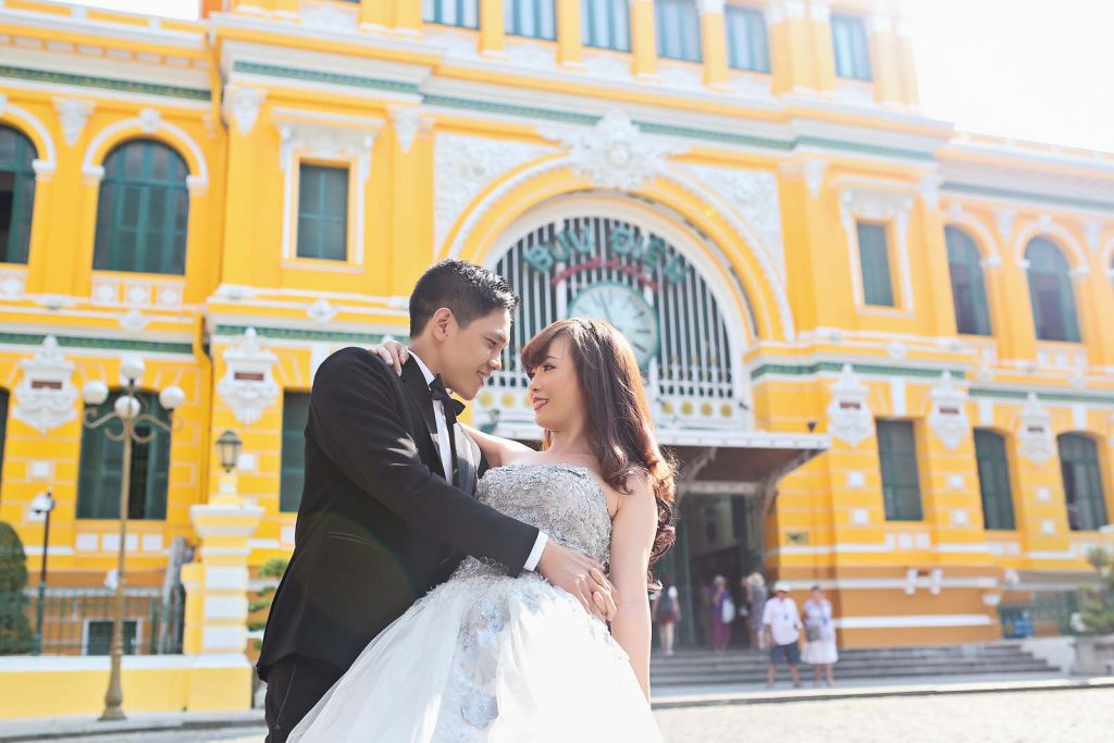 Chụp hình cưới ở đâu đẹp TPHCM - Ảnh 5