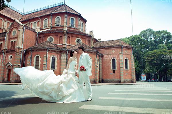 Chụp hình cưới ở đâu đẹp TPHCM - Ảnh 1