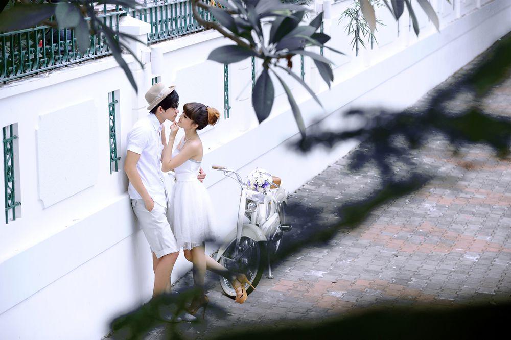 Ảnh cưới chụp tại Phú Mỹ Hưng