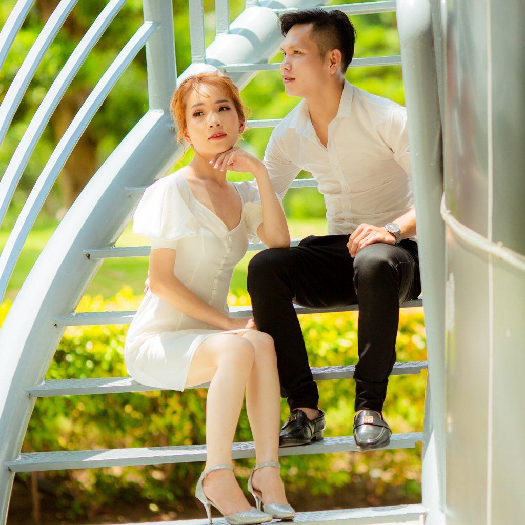 Ảnh Cưới Ngoại Cảnh Sài Gòn - Hình ảnh 18
