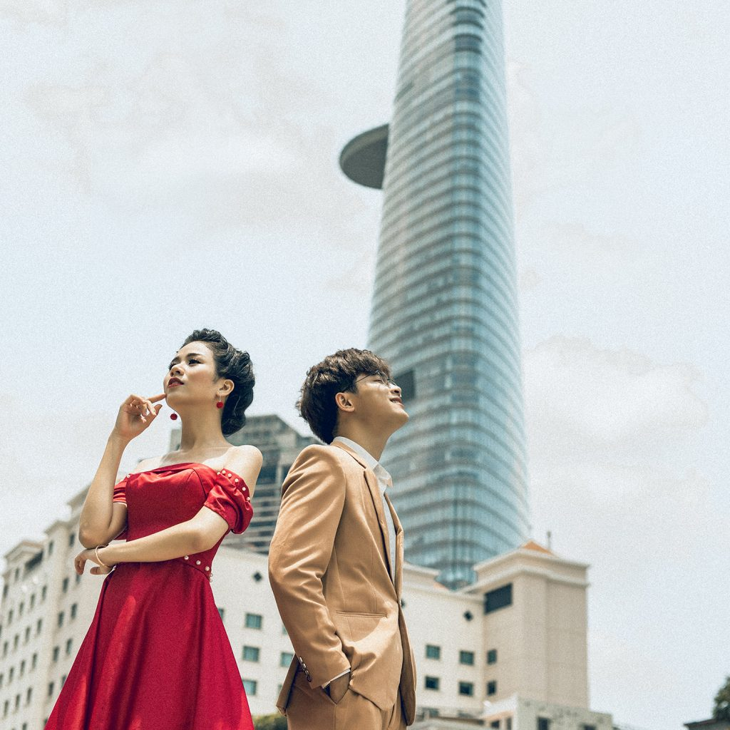 Ảnh Cưới Ngoại Cảnh Sài Gòn - Hình ảnh 21
