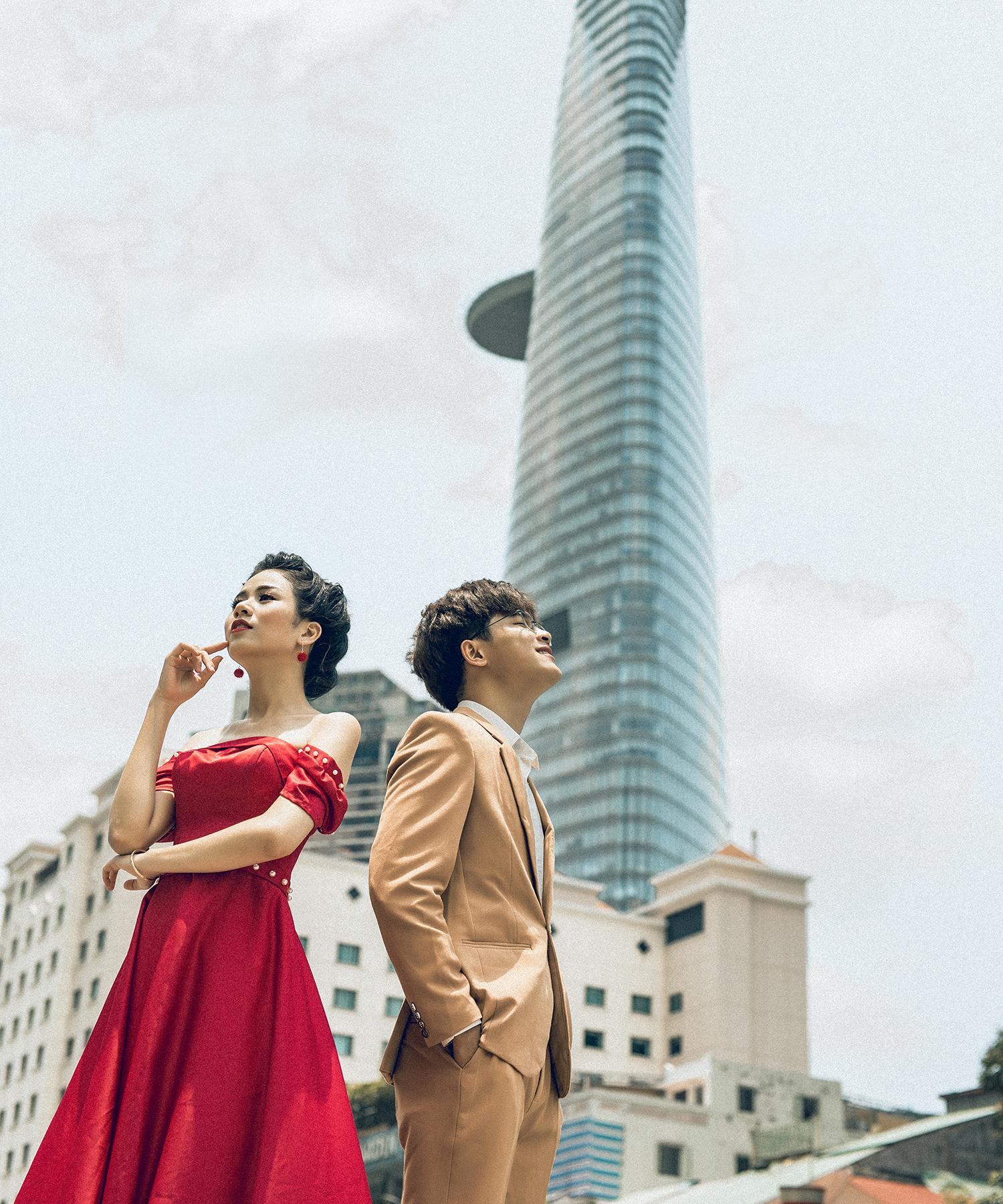 Một số ảnh cưới được chụp tại Ahihi Studio