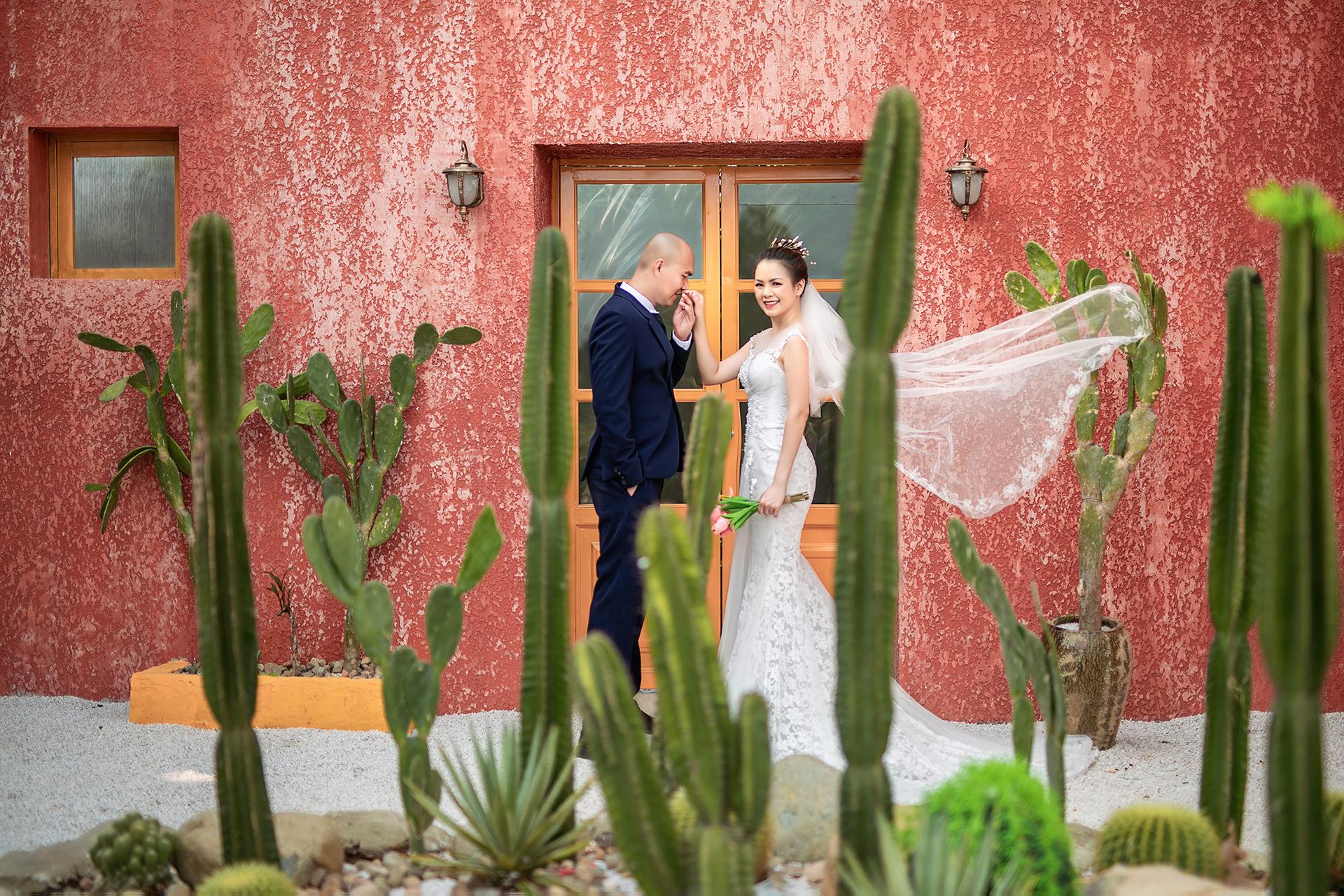 Ảnh cưới phim trường Paris