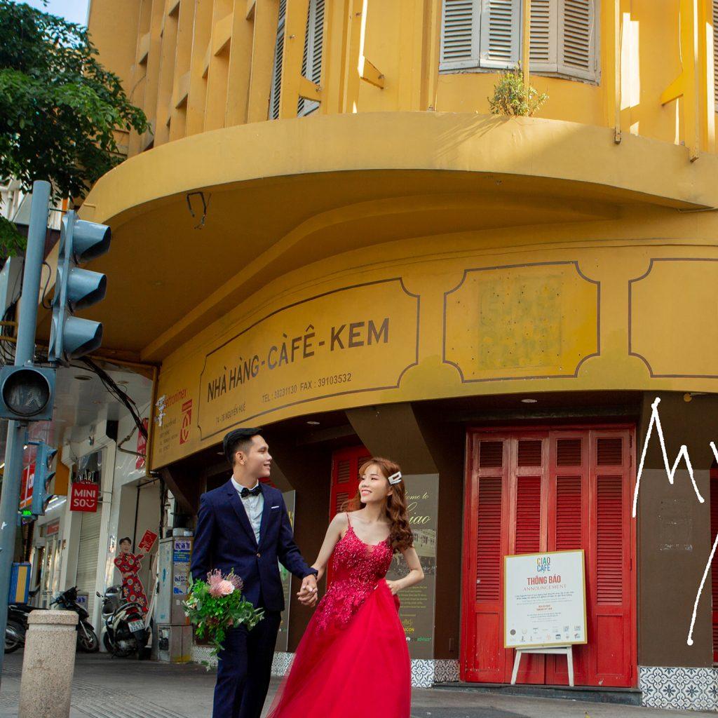 Ảnh Cưới Ngoại Cảnh Sài Gòn - Hình ảnh 4