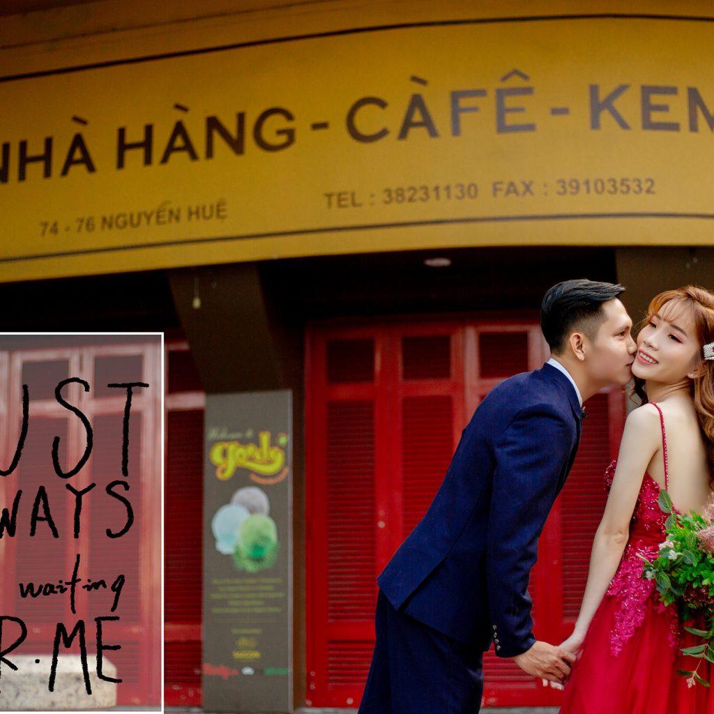 Ảnh Cưới Ngoại Cảnh Sài Gòn - Hình ảnh 5