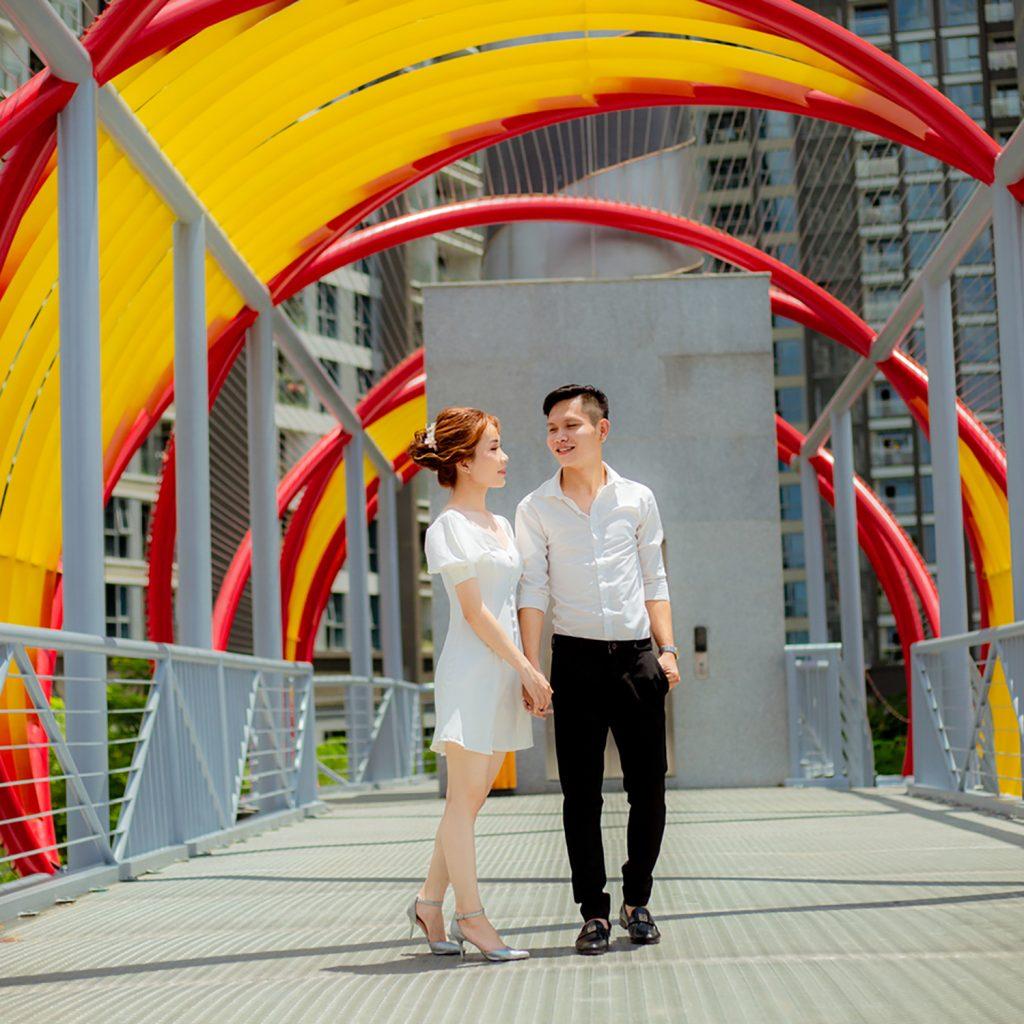 Ảnh Cưới Ngoại Cảnh Sài Gòn - Hình ảnh 7