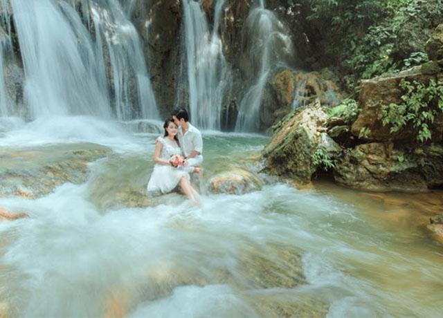 Gói chụp ảnh cưới ngoại cảnh Đà Lạt đẹp ngất ngây của Ahihi Studio - Hình ảnh 1