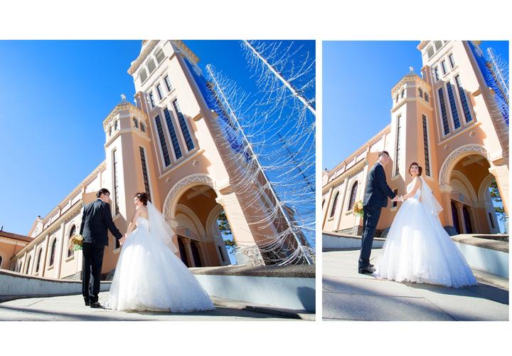 Gói chụp ảnh cưới ngoại cảnh Đà Lạt đẹp ngất ngây của Ahihi Studio - Hình ảnh 2