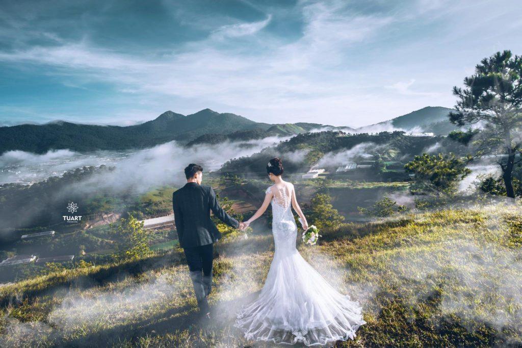 Gói chụp ảnh cưới ngoại cảnh Đà Lạt đẹp ngất ngây của Ahihi Studio - Hình ảnh 3