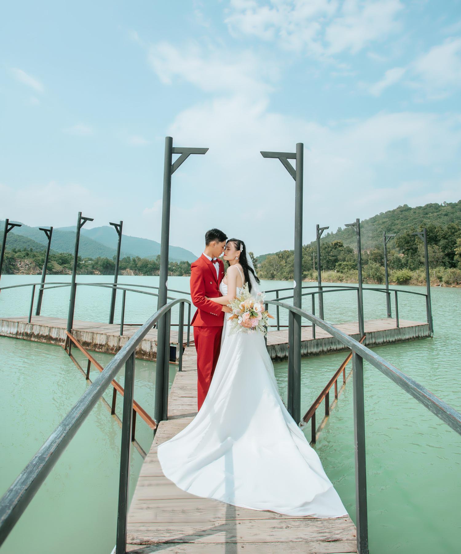 Chụp ảnh cưới ngoại cảnh Hồ Cốc Vũng Tàu 02