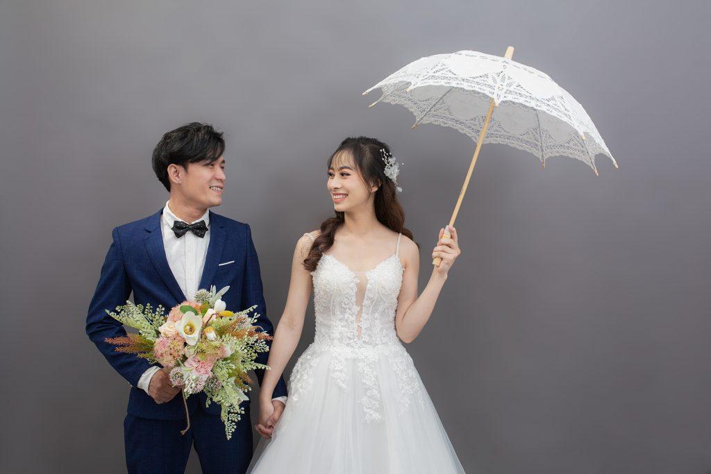 Báo giá chụp ảnh cưới studio Hàn Quốc