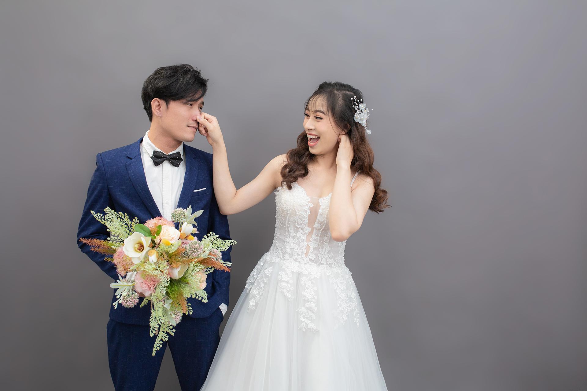 Chụp ảnh cưới studio Hàn Quốc - hình 1