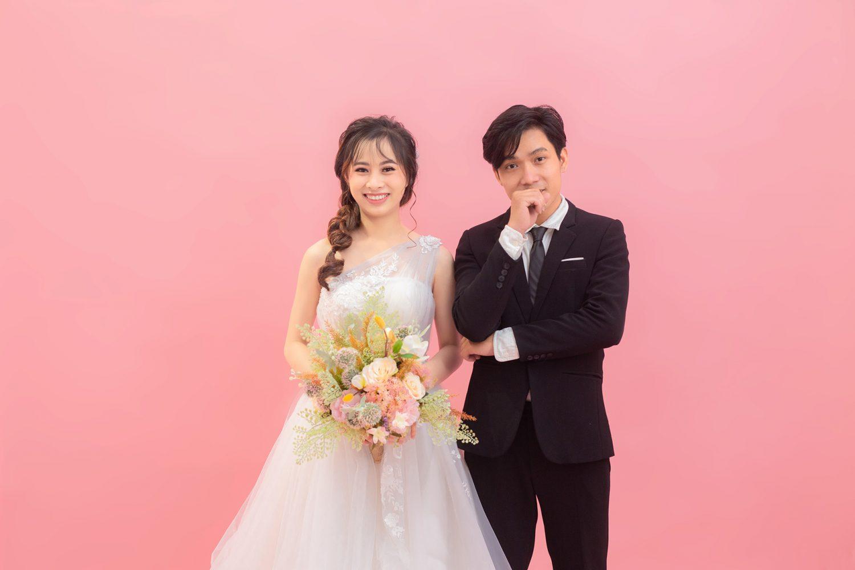 chụp ảnh cưới studio Hàn Quốc 01