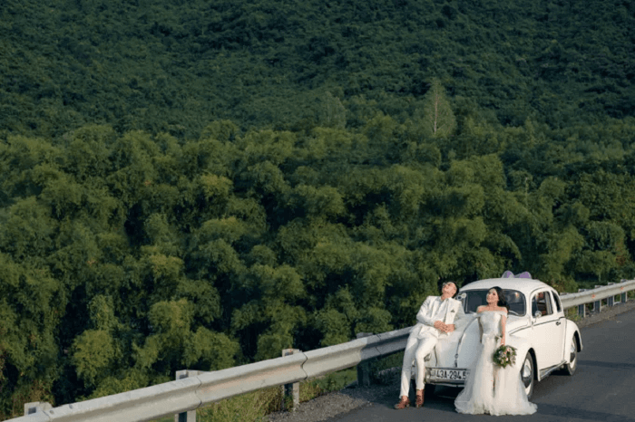 Ảnh cưới chụp ở Đà Nẵng ngỡ như đồng quê châu Âu - Ảnh 1