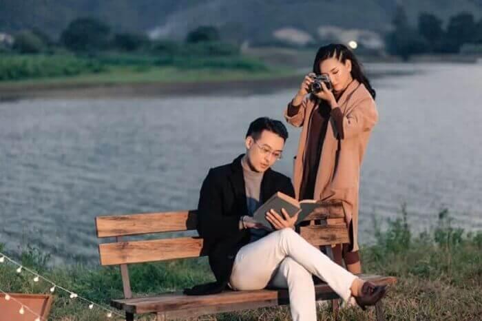 Ảnh cưới chụp ở Đà Nẵng ngỡ như đồng quê châu Âu - Ảnh 10