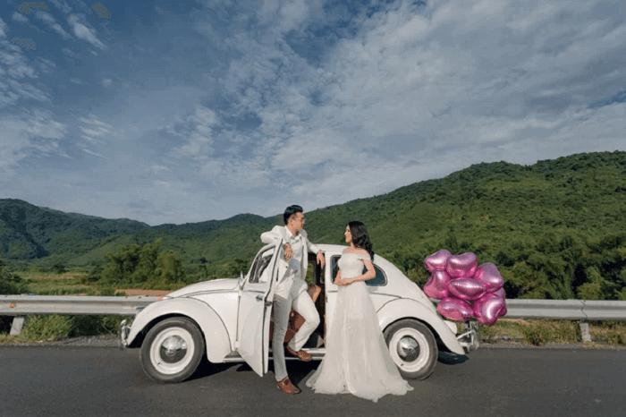 Ảnh cưới chụp ở Đà Nẵng ngỡ như đồng quê châu Âu - Ảnh 2
