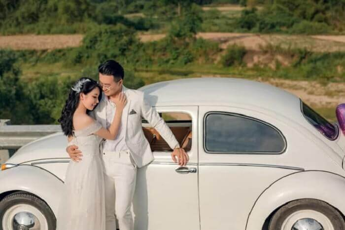 Ảnh cưới chụp ở Đà Nẵng ngỡ như đồng quê châu Âu - Ảnh 3