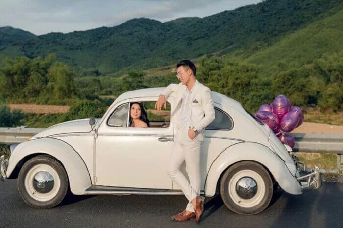 Ảnh cưới chụp ở Đà Nẵng ngỡ như đồng quê châu Âu - Ảnh 4