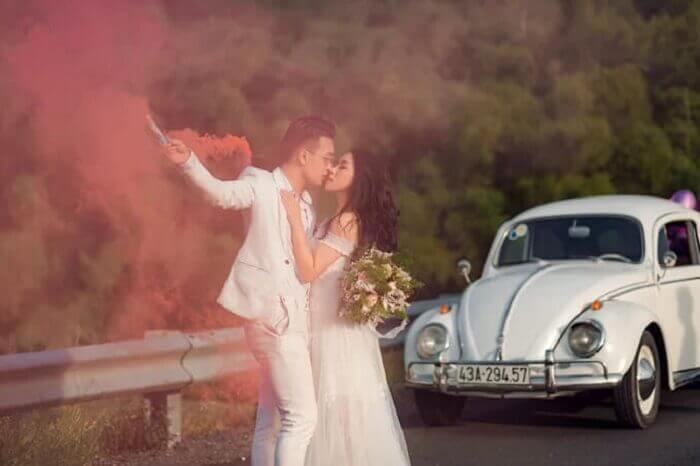 Ảnh cưới chụp ở Đà Nẵng ngỡ như đồng quê châu Âu - Ảnh 6