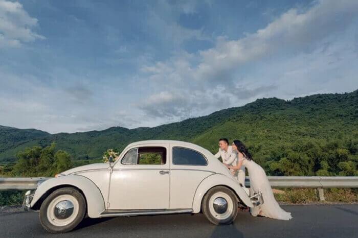 Ảnh cưới chụp ở Đà Nẵng ngỡ như đồng quê châu Âu - Ảnh 7