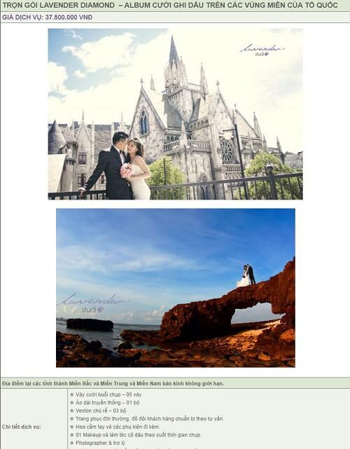 Báo giá album cưới trọn gói của Lavender Studio - hình ảnh 7