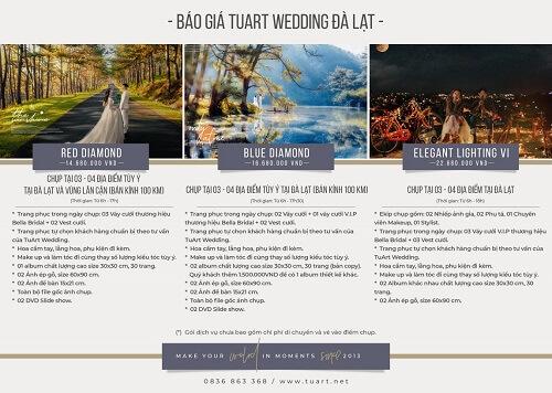 Bảng giá chụp hình cưới của Tuart Wedding tại Đà Lạt - hình ảnh 2