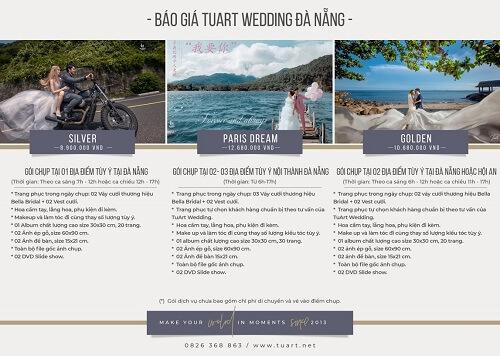 Bảng giá chụp hình cưới của Tuart Wedding tại Đà Nẵng - hình ảnh 1