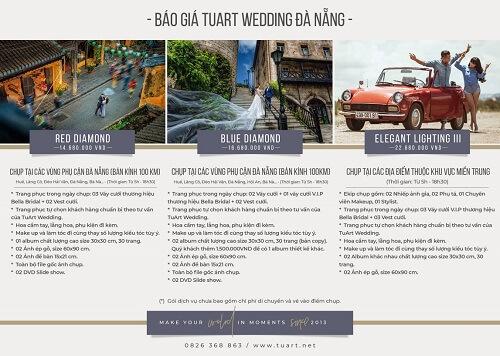 Bảng giá chụp hình cưới của Tuart Wedding tại Đà Nẵng - hình ảnh 2