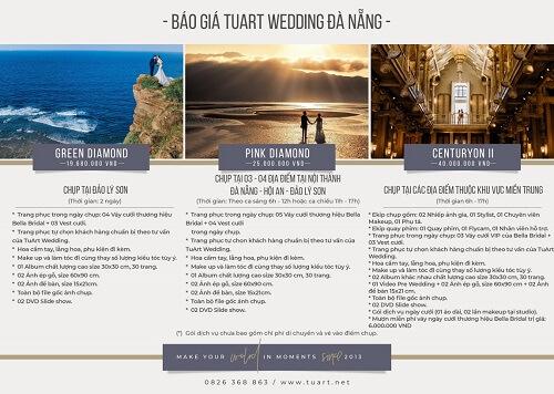 Bảng giá chụp hình cưới của Tuart Wedding tại Đà Nẵng - hình ảnh 3