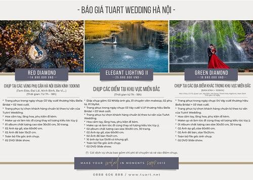 Bảng giá chụp hình cưới của Tuart Wedding tại Hà Nội - hình ảnh 3