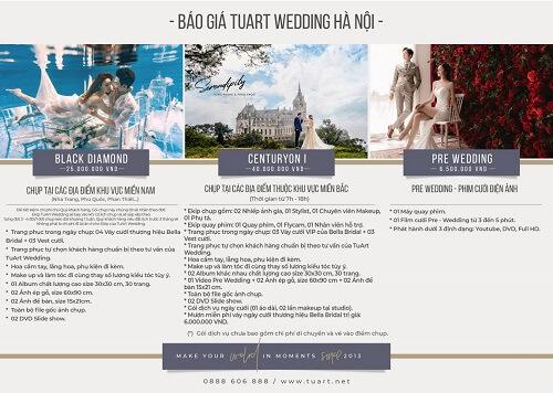 Bảng giá chụp hình cưới của Tuart Wedding tại Hà Nội - hình ảnh 4