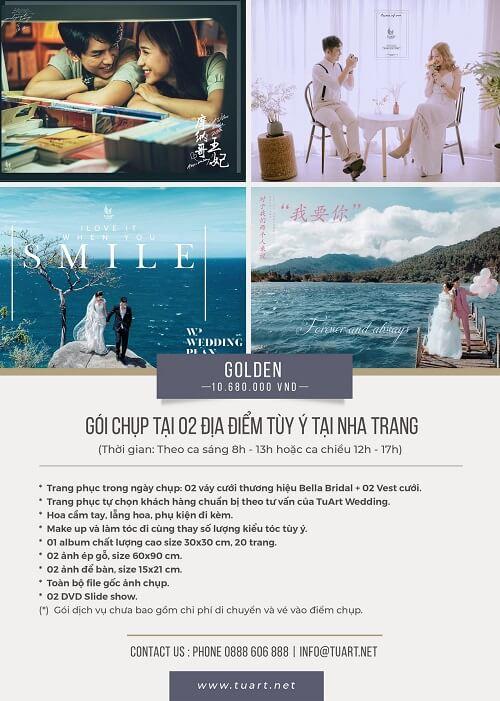 Bảng giá chụp hình cưới của Tuart Wedding tại Nha Trang - hình ảnh 2