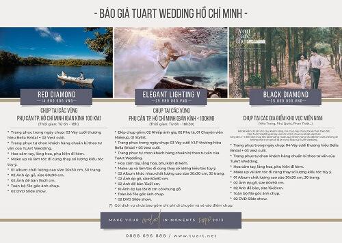 Bảng giá chụp hình cưới của Tuart Wedding tại TPHCM - hình ảnh 3