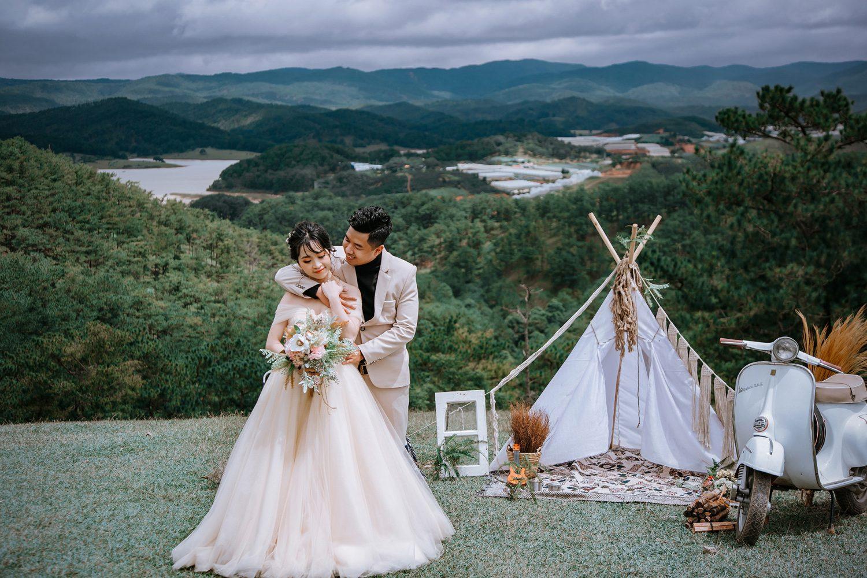 Chụp ảnh cưới ngoại cảnh Đà Lạt 01