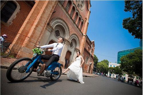 6 địa điểm chụp ảnh cưới rẻ mà vẫn đẹp long lanh ở Sài Gòn - hình ảnh 11