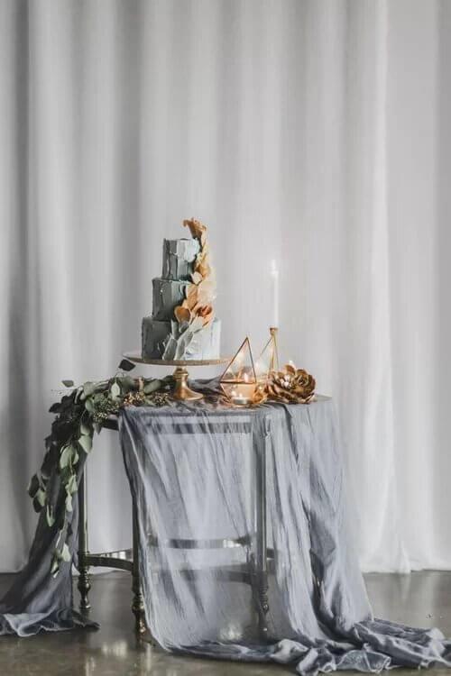 6 mẫu bánh cưới độc đáo cho năm 2019 - hình ảnh 6