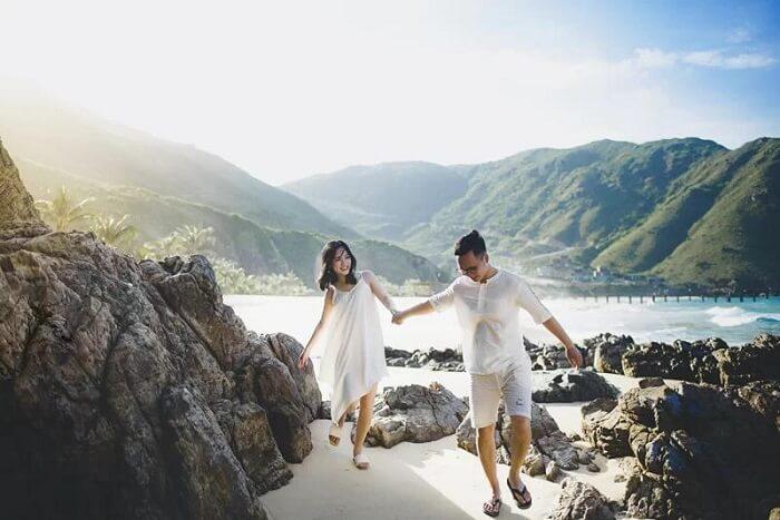 Ảnh cưới ở thiên đường Maldives Việt Nam đẹp tựa tranh vẽ - hình ảnh 8