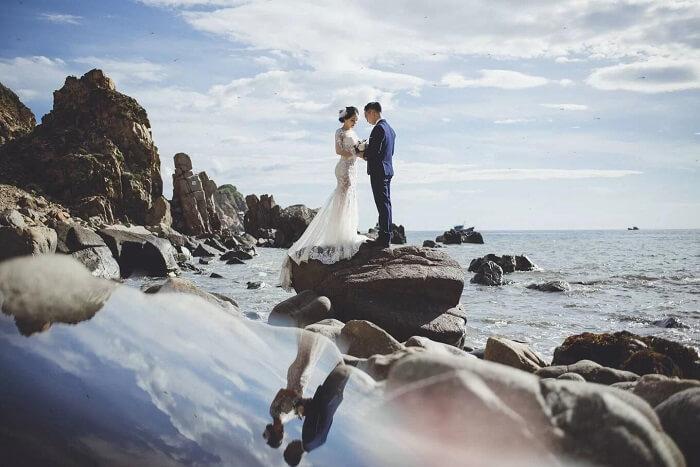 Ảnh cưới ở thiên đường Maldives Việt Nam đẹp tựa tranh vẽ - hình ảnh 9