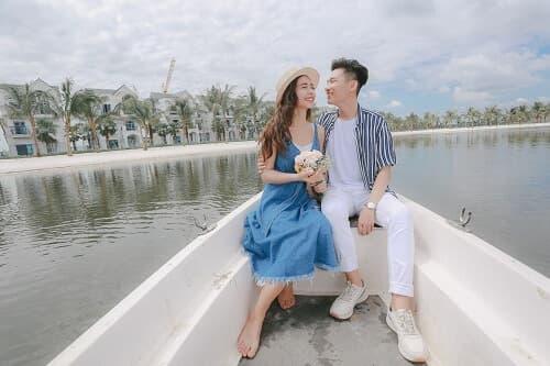 """Biển Vinhomes Ocean Park: Điểm chụp ảnh cưới """"chất lừ"""" của các cặp đôi - hình ảnh 10"""
