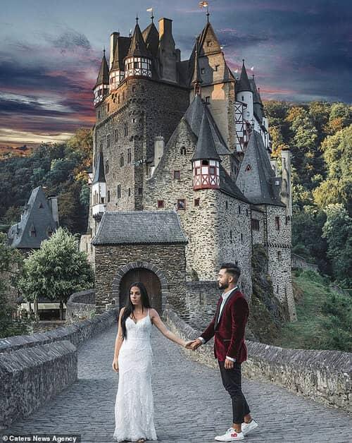 Cặp đôi chịu chơi nhất hành tinh: Đi du lịch vòng quanh thế giới để chụp ảnh cưới và sống lại ngày hạnh phúc nhất - hình ảnh 10