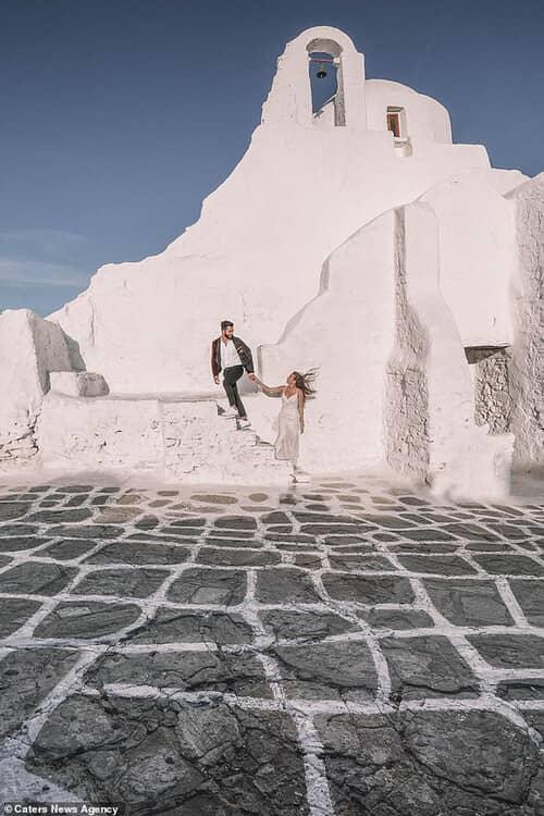 Cặp đôi chịu chơi nhất hành tinh: Đi du lịch vòng quanh thế giới để chụp ảnh cưới và sống lại ngày hạnh phúc nhất - hình ảnh 2