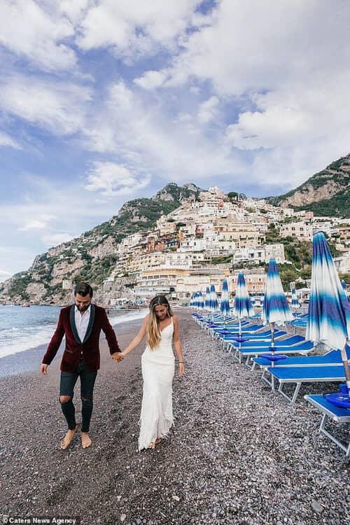 Cặp đôi chịu chơi nhất hành tinh: Đi du lịch vòng quanh thế giới để chụp ảnh cưới và sống lại ngày hạnh phúc nhất - hình ảnh 3