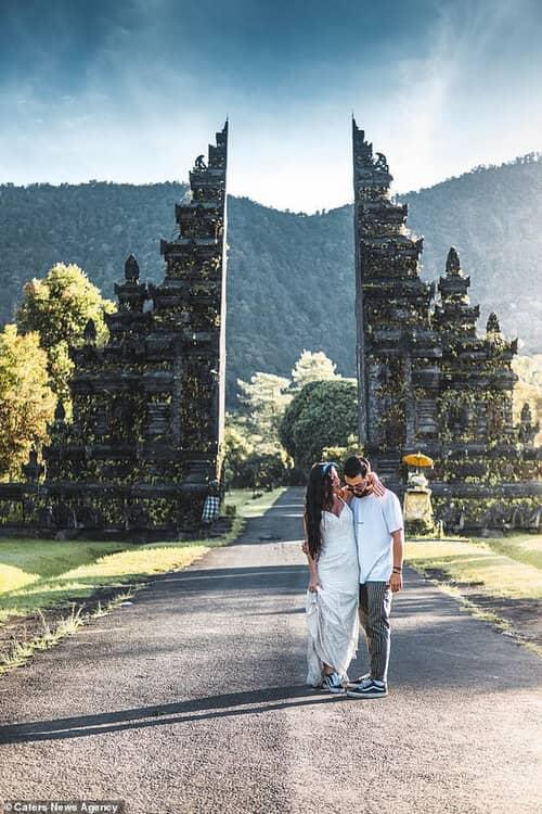 Cặp đôi chịu chơi nhất hành tinh: Đi du lịch vòng quanh thế giới để chụp ảnh cưới và sống lại ngày hạnh phúc nhất - hình ảnh 9