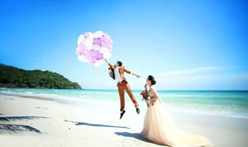 Chụp ảnh cưới kết hợp du lịch trăng mật tại Phú Quốc - hình ảnh 1
